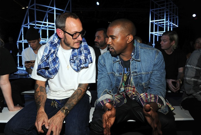 Terry Richardson and Kanye West