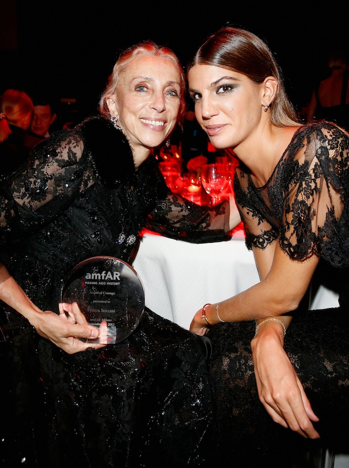 Franca Sozzani and Bianca Brandolini