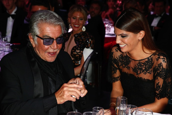 Roberto Cavalli and Bianca Brandolini