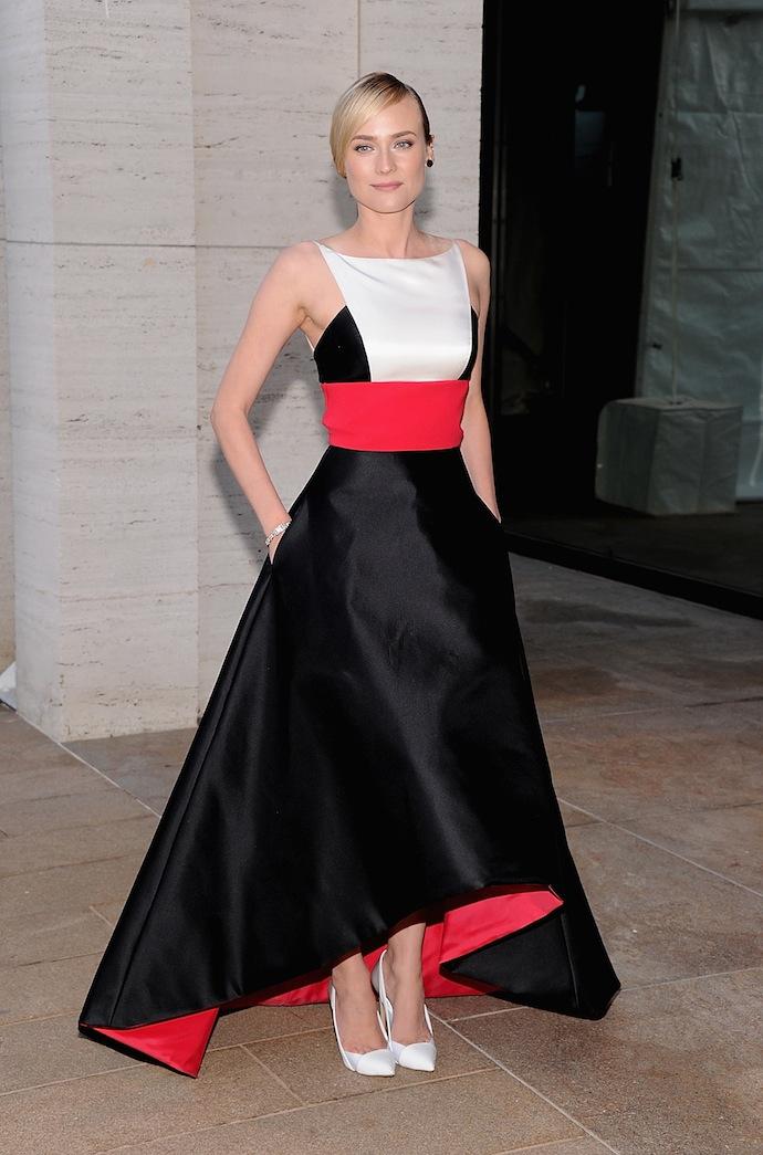 Diane Kruger in Prabal Gurung Dress from the Resort 2014 line