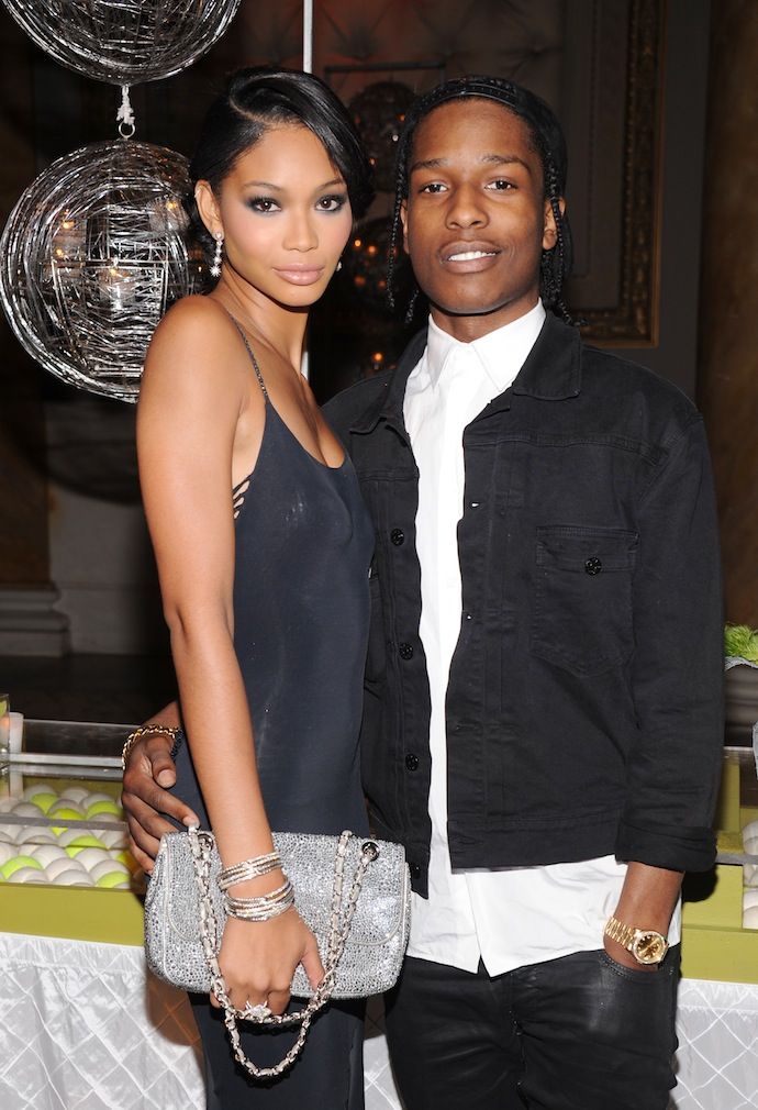 Chanel Iman and ASAP Rocky