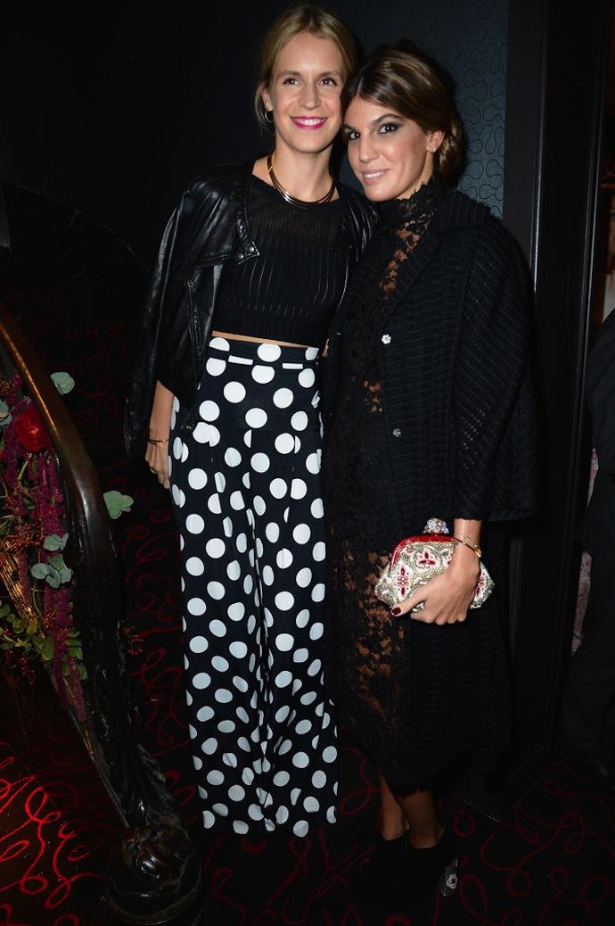 Eugenie Niarchos and Bianca Brandolini
