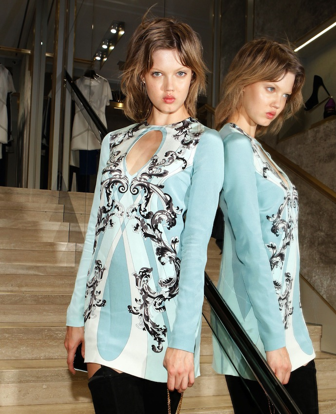 Model Lindsey Wixon in Pucci fall 2013