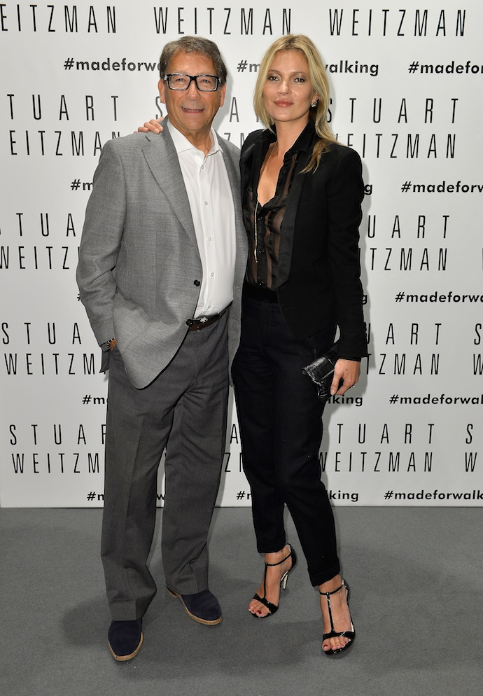 Kate Moss and Stuart Weitzman