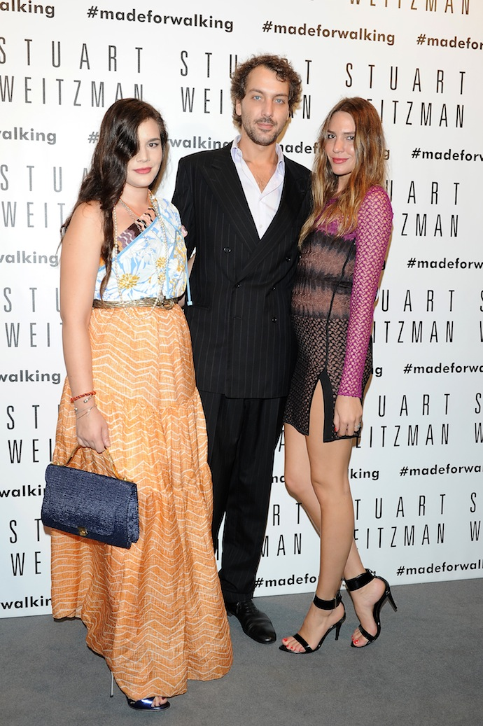 Teresa Missoni, Francesco Missoni and Lucrezia Buti