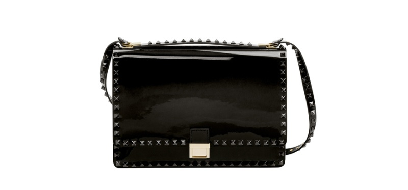 Valentino  Studded patent leather bag,2050 euros