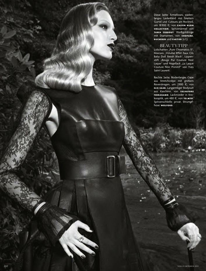 Vanessa Axente by Luigi & Daniele + Iango for Vogue Germany October 2013