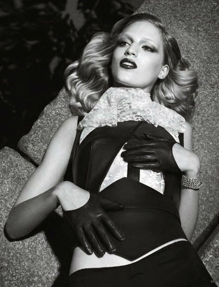 Vanessa Axente by Luigi & Daniele + Iango for Vogue Germany October 2013