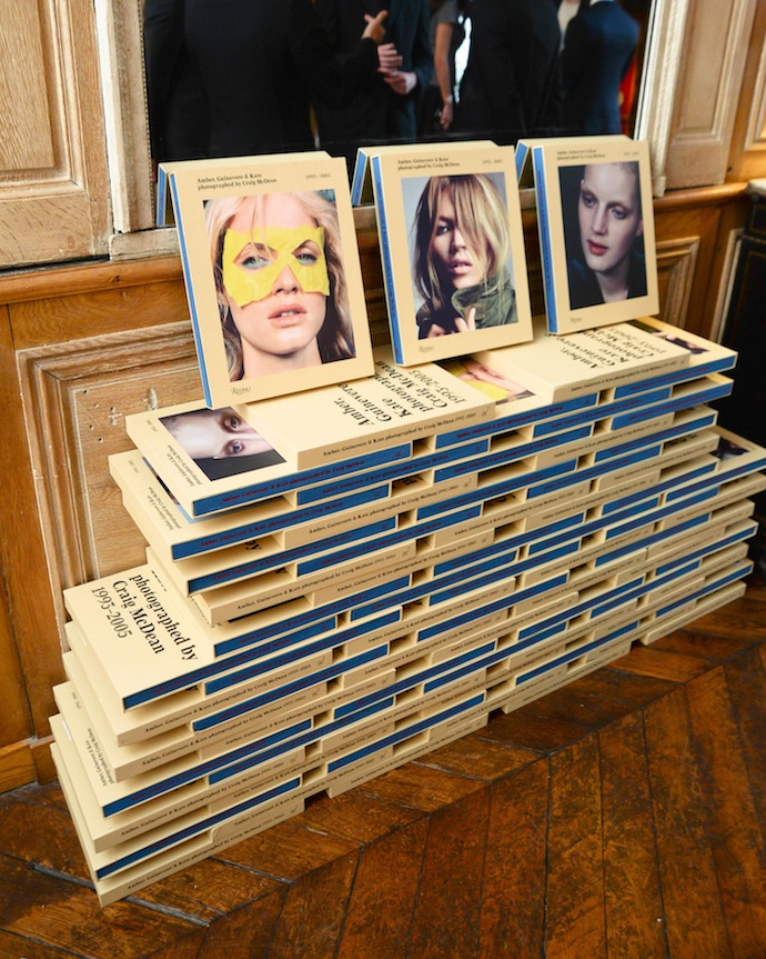 W Magazine Celebrates Craig McDean's Book during Paris Fashion Week