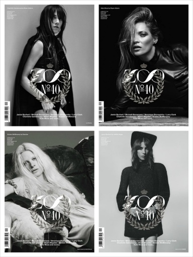 Zoo Magazine celebrates its 40th anniversary with 4 memorable covers