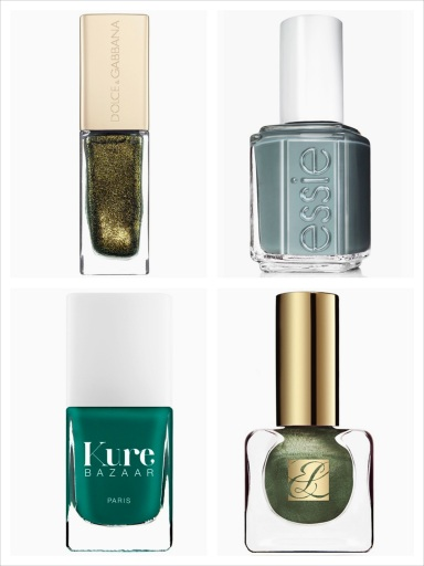 10 best dark green nail polishes