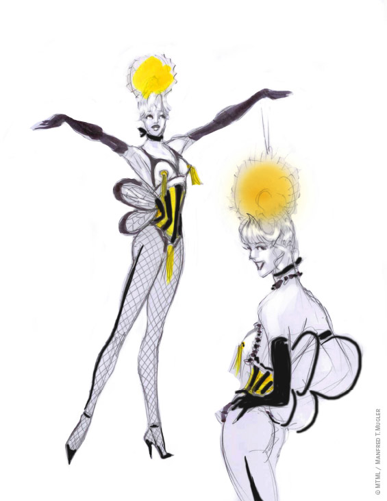 """Mugler Follies"" by Thierry Mugler on December 10 in Paris""Mugler Follies"" by Thierry Mugler on December 10 in Paris"