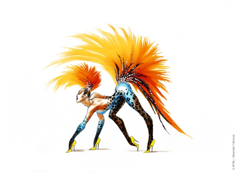 """Mugler Follies"" by Thierry Mugler on December 10 in Paris"