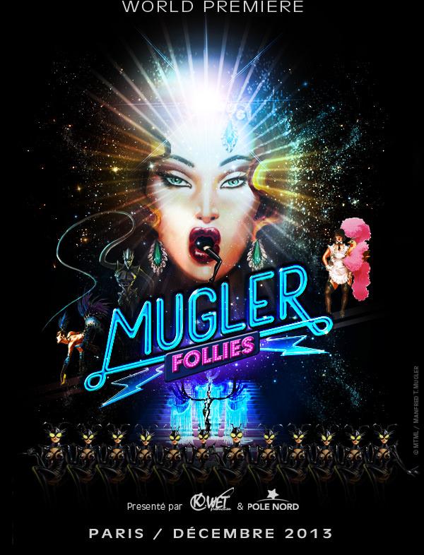 """Mugler Follies"" by Thierry Mugler on December 10 in Paris"