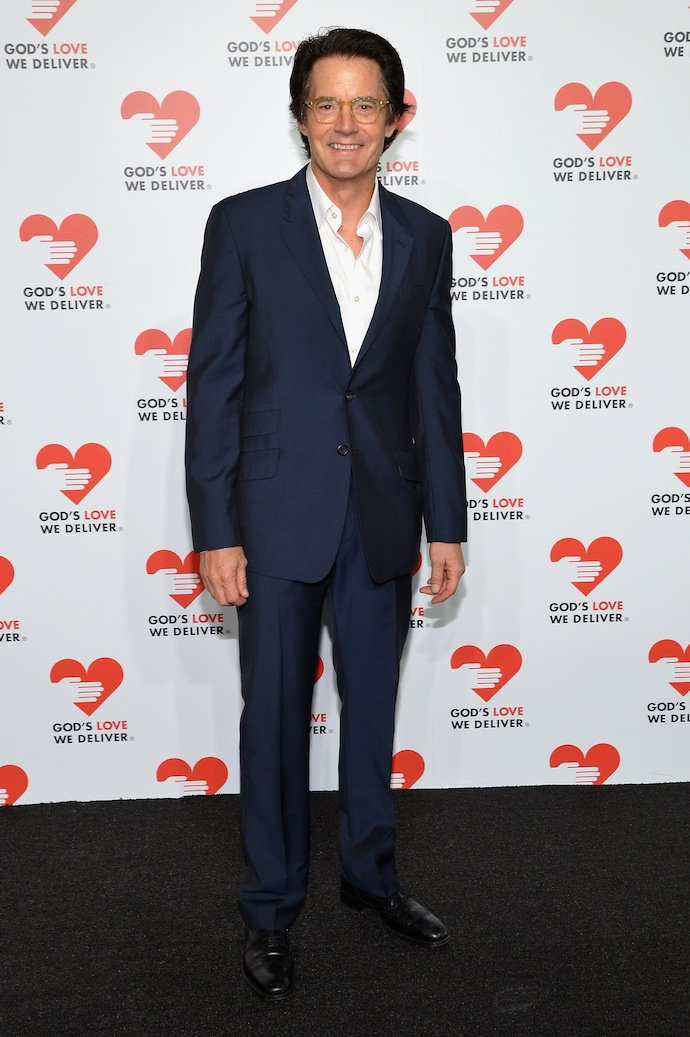 Actor Kyle MacLachlan attends the 2013 Golden Heart Awards Gala