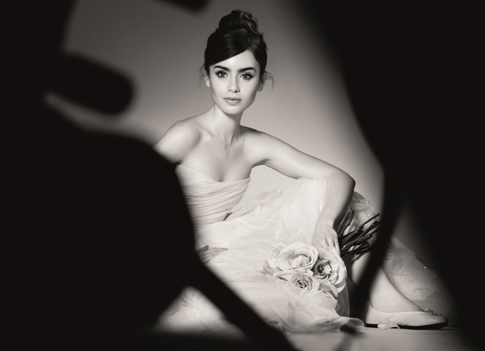 Actress Lily Collins is the new face of Lancôme