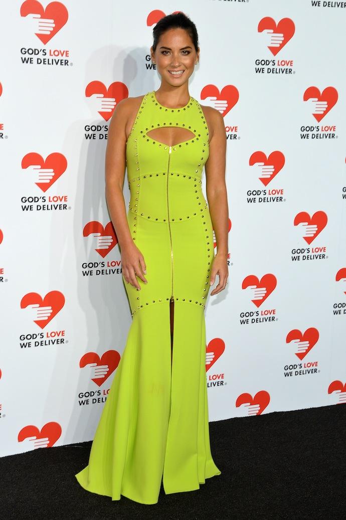 Actress Olivia Munn attends God's Love We Deliver 2013 Golden Heart Awards Celebration