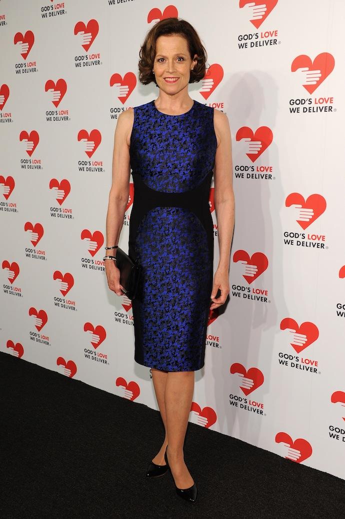 Actress Sigourney Weaver attends God's Love We Deliver 2013 Golden Heart Awards Celebration