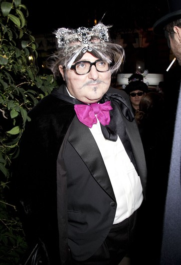 Alber Elbaz At the Lanvin Halloween Extravaganza in New York in 2010.