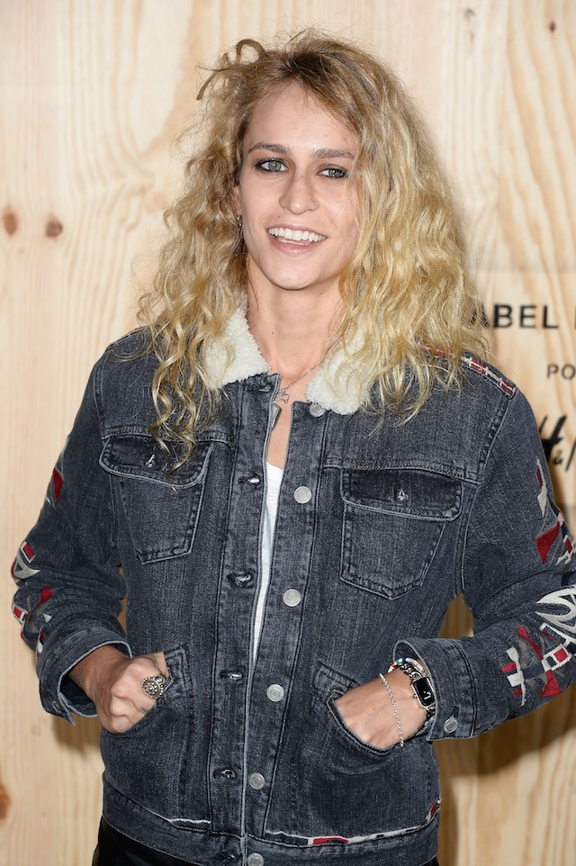 Alice Dellal attends the 'Isabel Marant For H&M' Photocall at Tennis Club De Paris