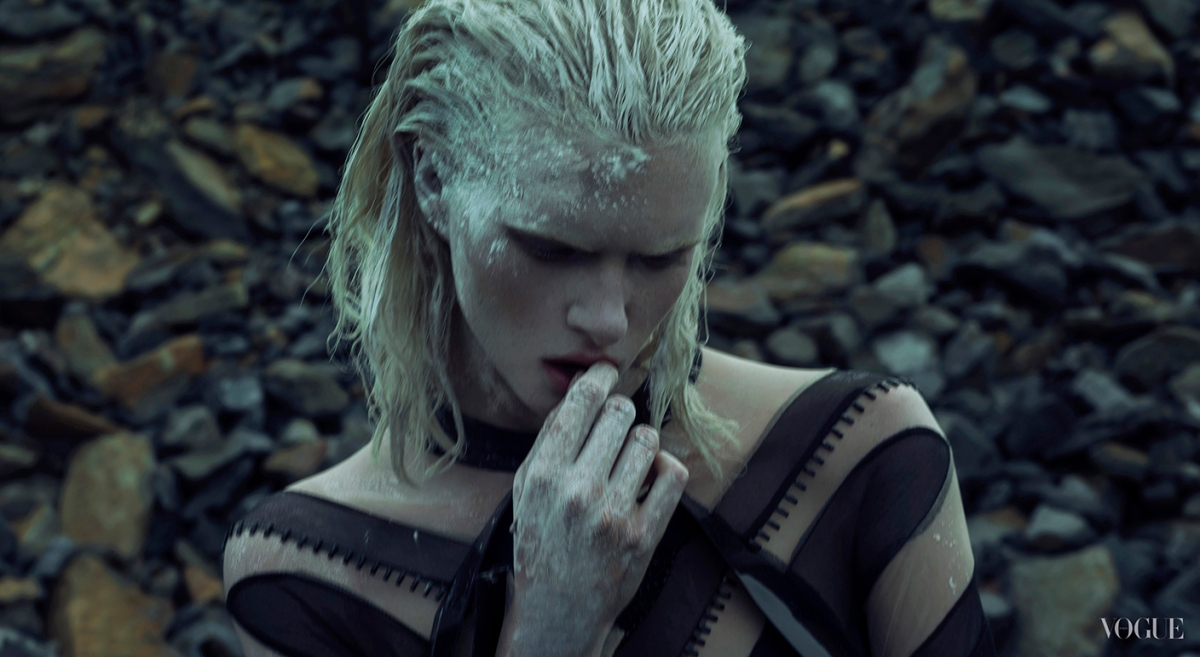 Alyona Subbotina by An Le for Vogue Italia Talents