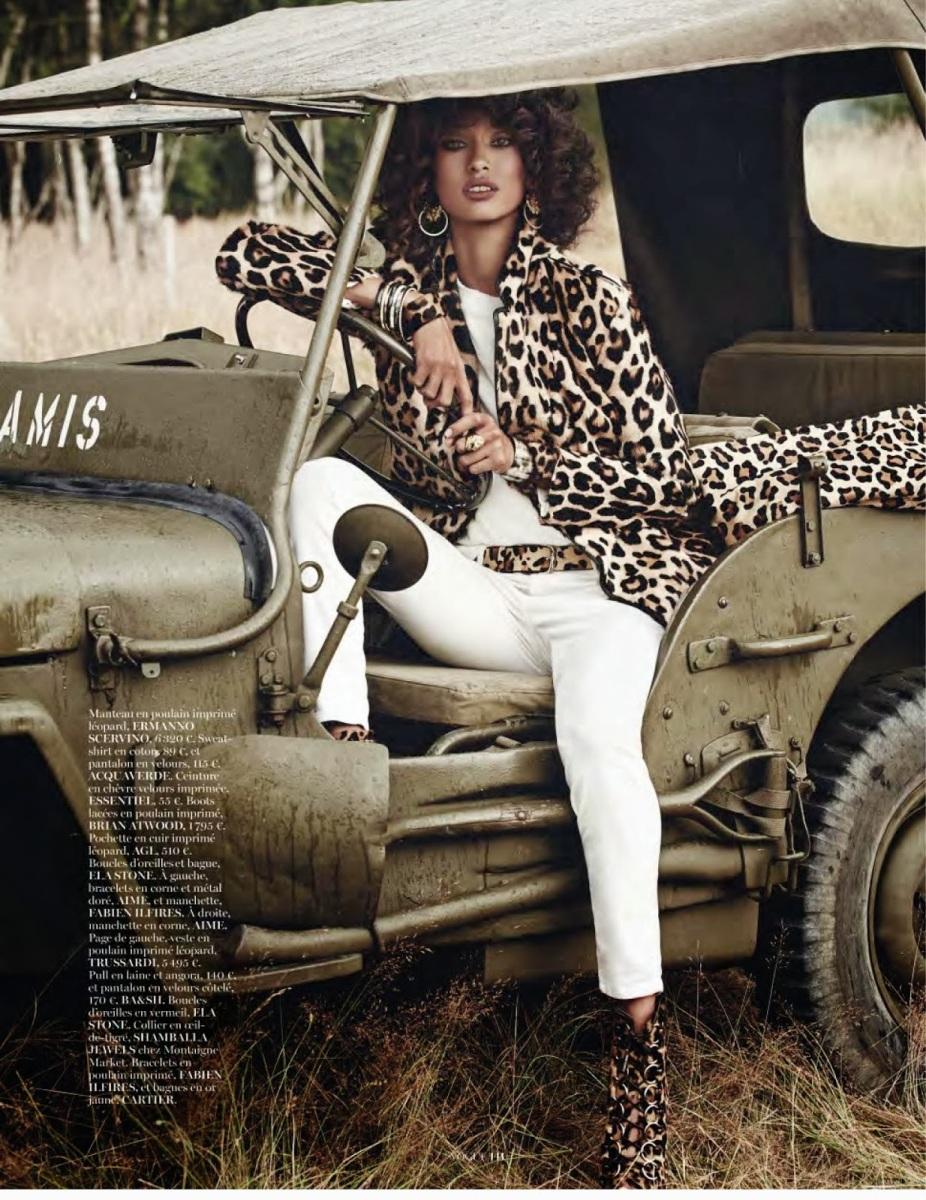 Anais Mali by Giampaolo Sgura for Vogue Paris November 2013