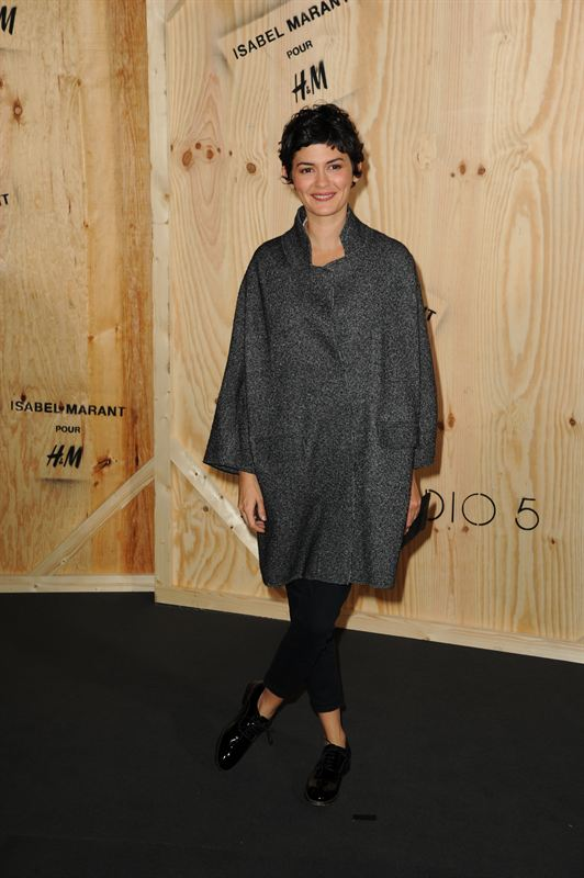 Audrey Tautou in Isabel Marant pour H M