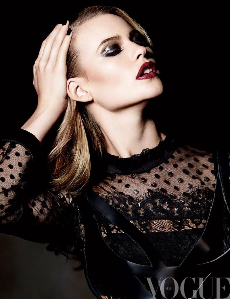 Behati Prinsloo by David Roemer for Vogue México November 2013