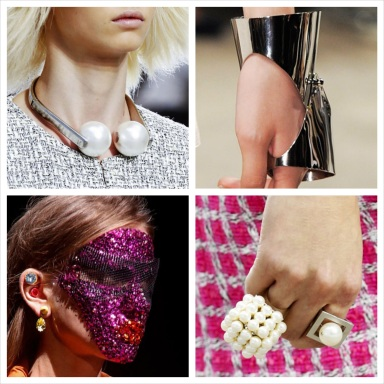 Best jewelry at Paris Fashion Week Spring/Summer 2014 collections