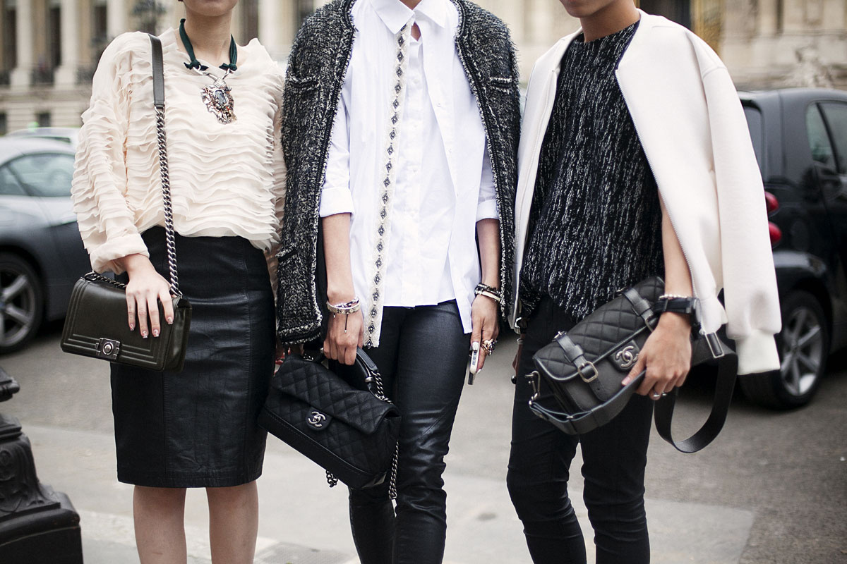 Best Street Style At Paris Fashion Week Spring Summer 2014