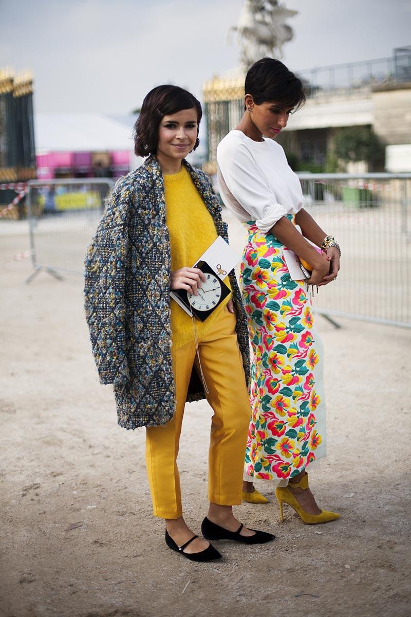 Best Street Style At Paris Fashion Week Spring/Summer 2014