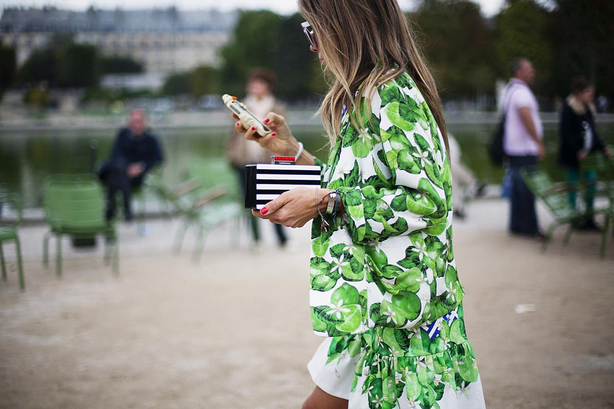 Best Street Style At Paris Fashion Week Spring/Summer 2014