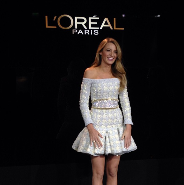 Blake Lively is the new face of L'Oreal Paris