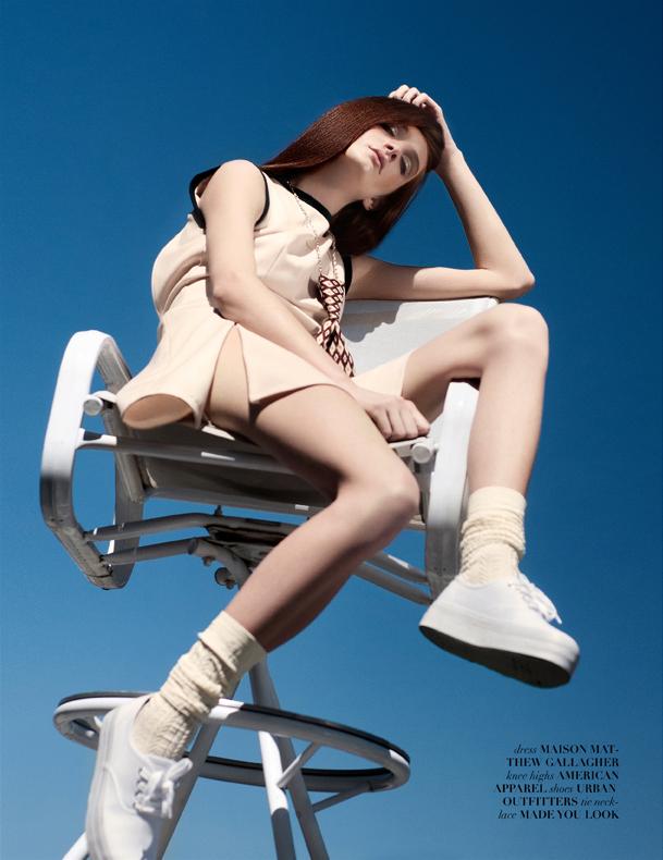 Carly by Denver Rodrigues for Vestal Magazine October 2013