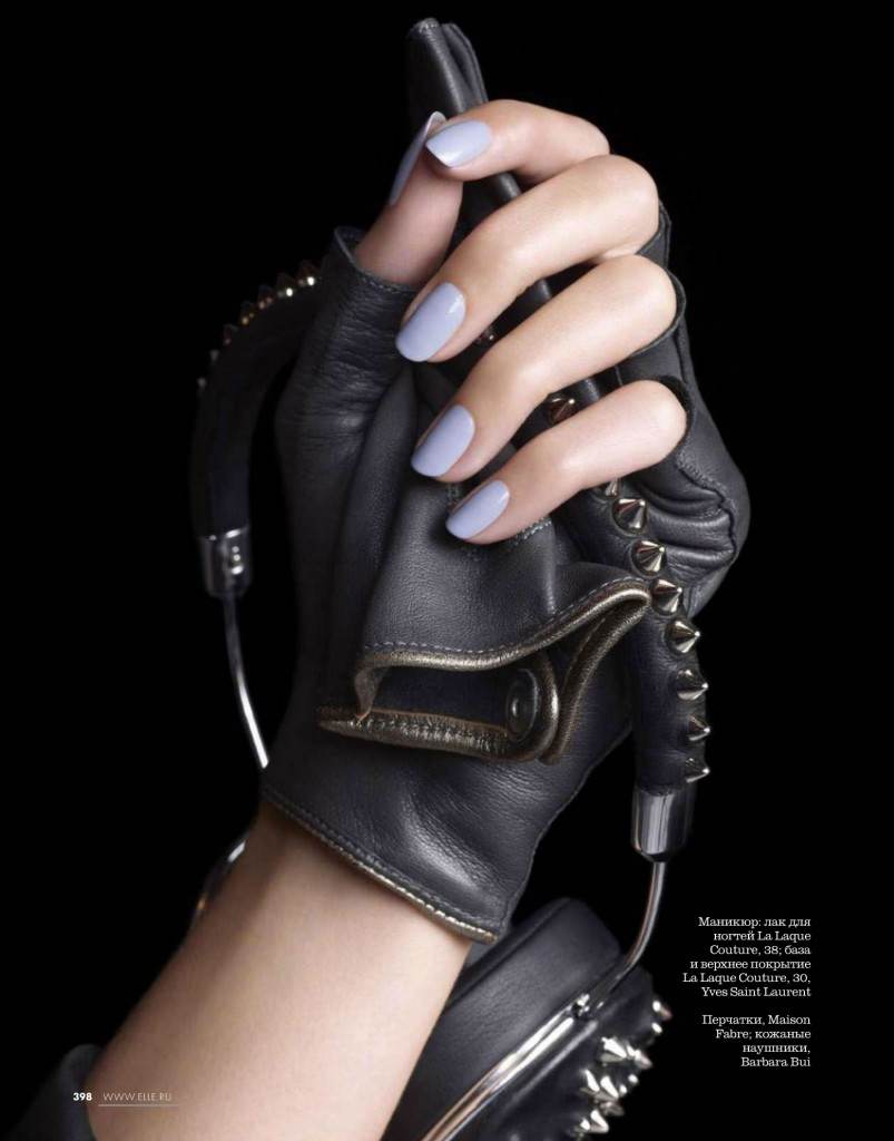 Claudia Anticevic & Marguerite by Felix Lammers for ELLE Russia November 2013