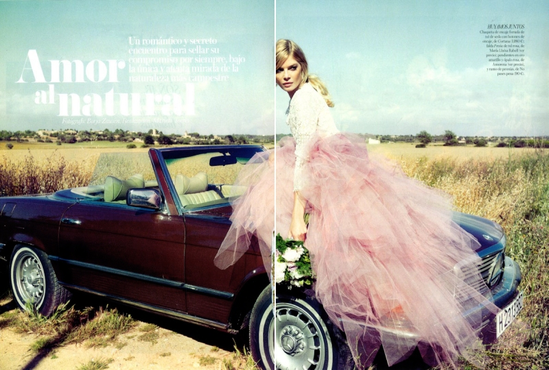 Cristina Tosio by Borja Zausen for Vogue Spain Novias October 2013