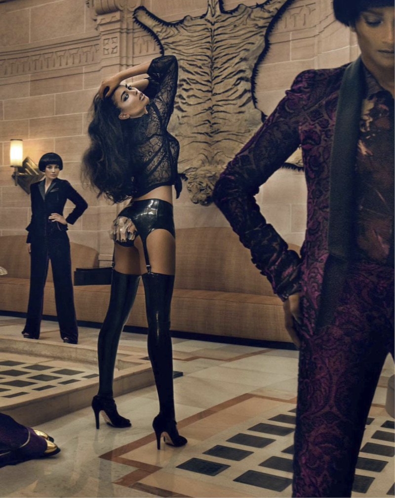 """Dangerous Liaisons"" by Signe Vilstrup for Vogue India October 2013"