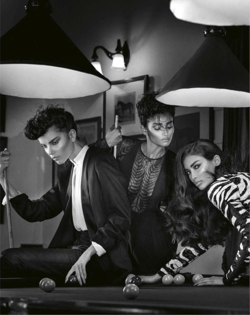 """Dangerous Liaisons"" by Signe Vilstrup for Vogue India October 2013"