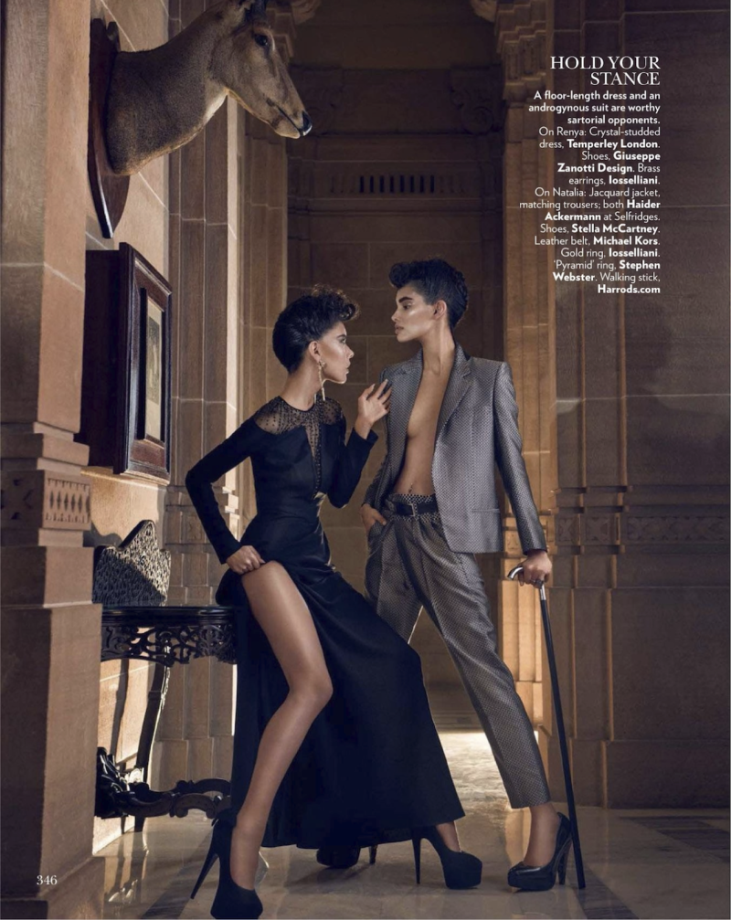 Dangerous Liaisons by Signe Vilstrup for Vogue India October 2013 8