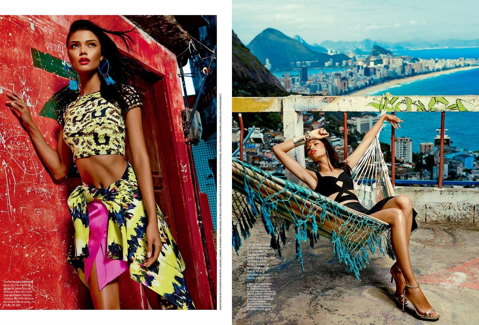 Daniela Braga by Fabio Bartelt for ELLE Brazil October 2013