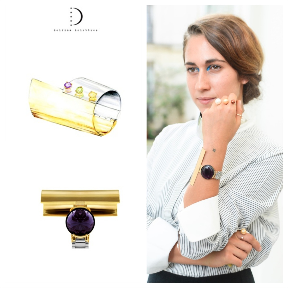 Delfina Delettrez, Never too light bracelet