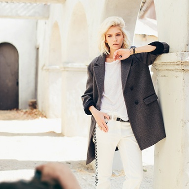 Elena Perminova for Harper's Bazaar Mexico November 2013