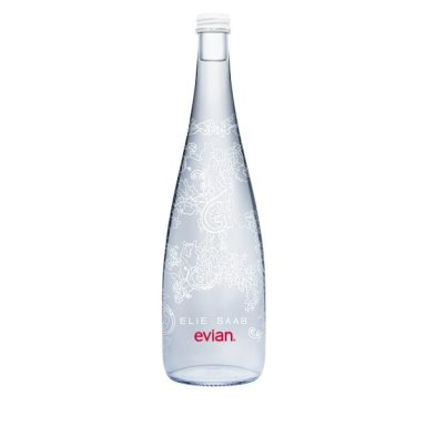 Evian presents its limited edition Elie Saab Bottle