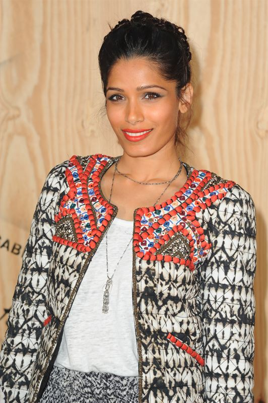 Freida Pinto in Isabel Marant pour H M
