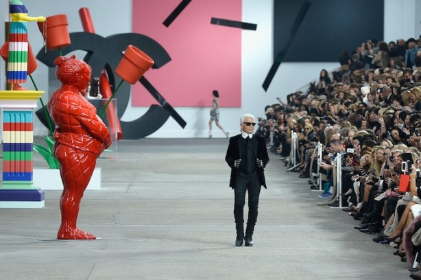 Chanel: Runway - Paris Fashion Week Womenswear Spring/Summer 2014