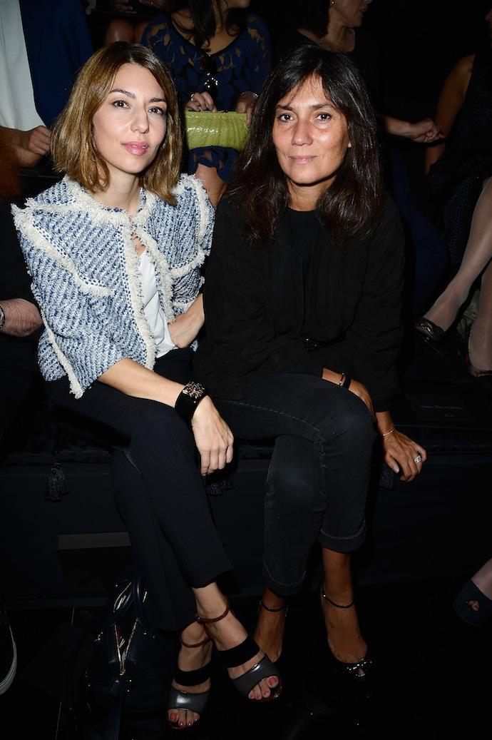 Sofia Coppola and Emmanuelle Alt