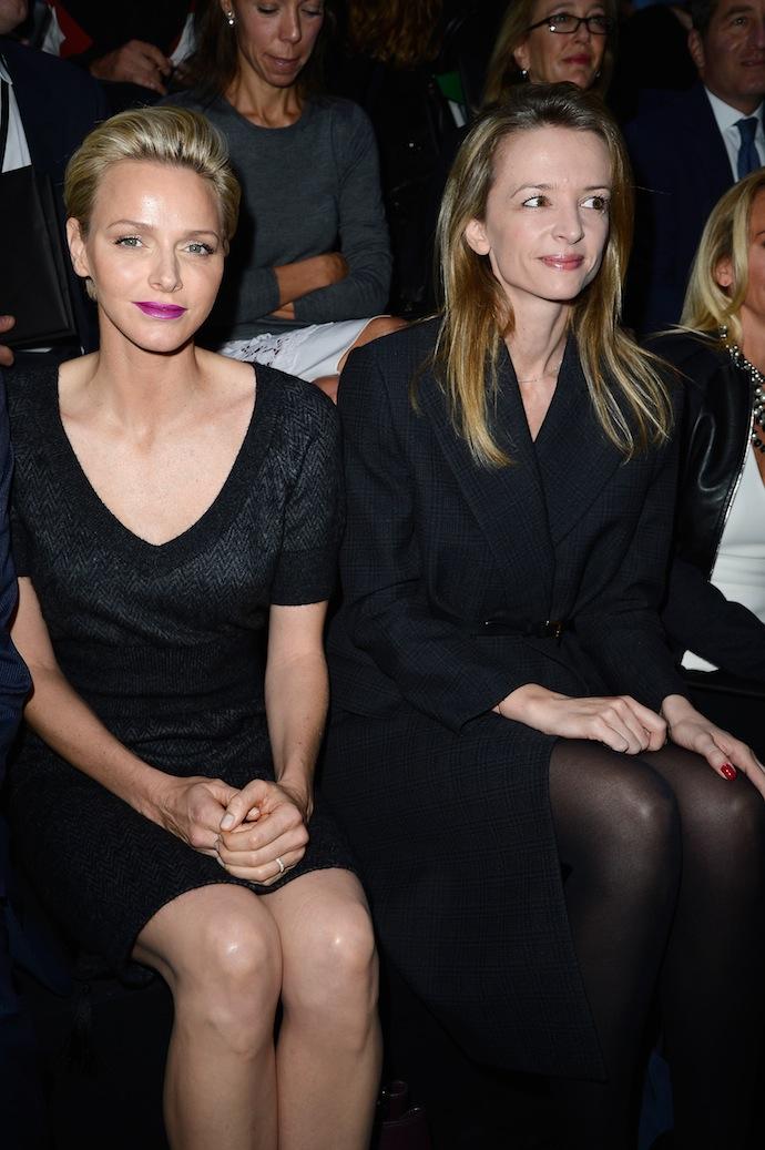 Princess Charlene of Monaco and Delphine Arnault