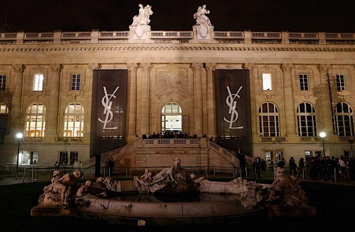 Saint Laurent show as part of the Paris Fashion Week Womenswear Spring/Summer 2014 at Grand Palais