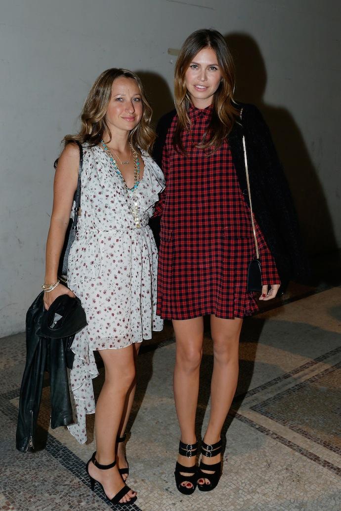 Jennifer Meyer and Dasha Zhukova
