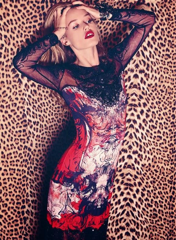 Georgia May Jagger by Xevi Muntane for Harper's Bazaar Spain November 2013